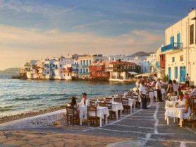 """CHARIOTEER"" >Mykonos – Santorini – Athens"