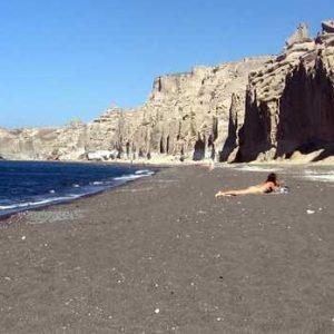 vlyhada الشاطئ-سانتوريني ثيرا الجزيرة-سيكلاديز-إيجة واليونان وأوروبا، celtours