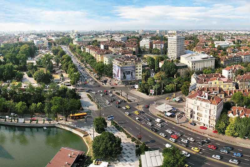 Sofia Giro Della Città Spiaggia Assolata Bulgaria Balcani 4