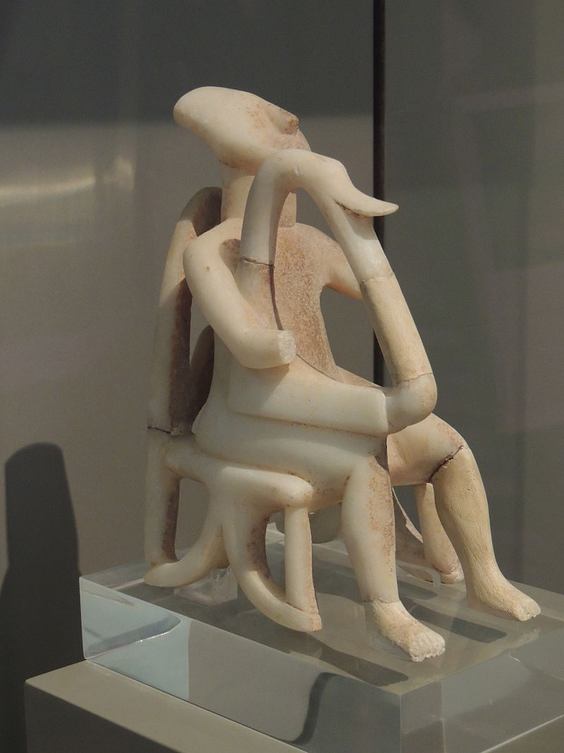 harp_player_cycladic_civilization-基克拉泽斯爱琴海 - 希腊 -  celtours