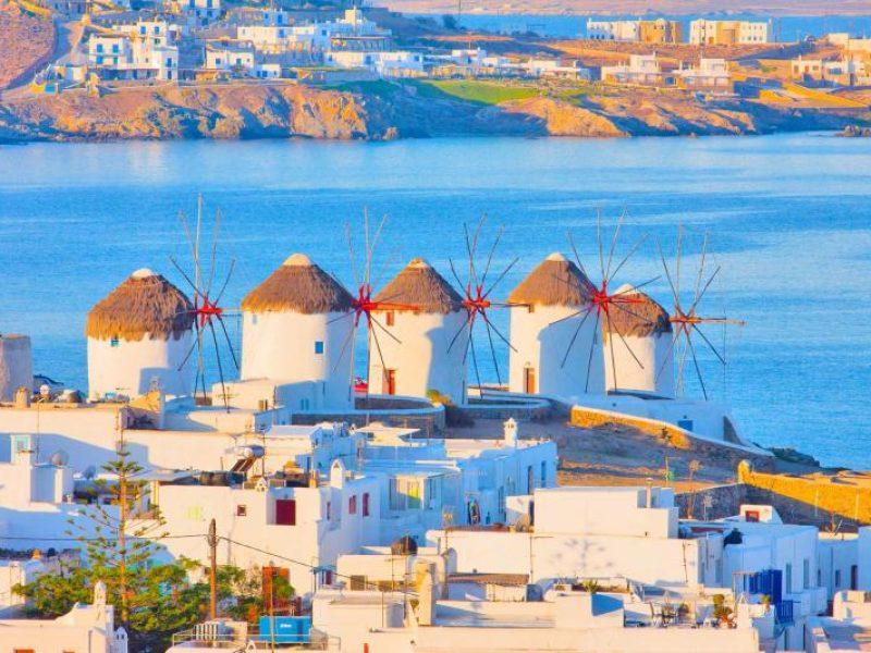 Aegean Glory >Athens – Santorini – Mykonos – Athens Tour