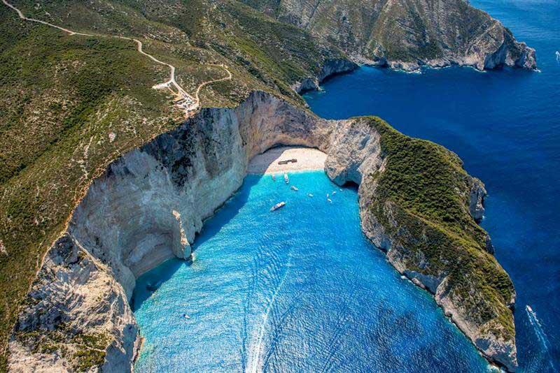 """""""NAVAGIO"""" >Athens - Peloponnese – Zakynthos - Santorini ..."""
