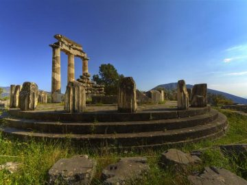 """Poseidon"" >Athens – Cape Sounion – Delphi – One Day Cruise"