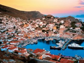 """Kalypso"" >Athens – One Day Cruise – Hydra – Santrorini"