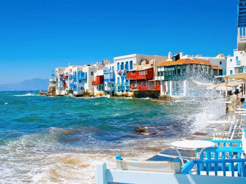Athens – Santorini – Mykonos – Athens