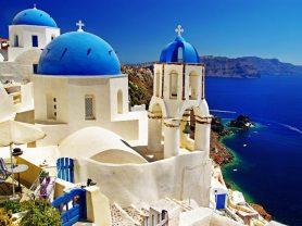 """""""Dionysos"""" >Athens – Delphi – Meteora – Athens – Santorini – Athens"""