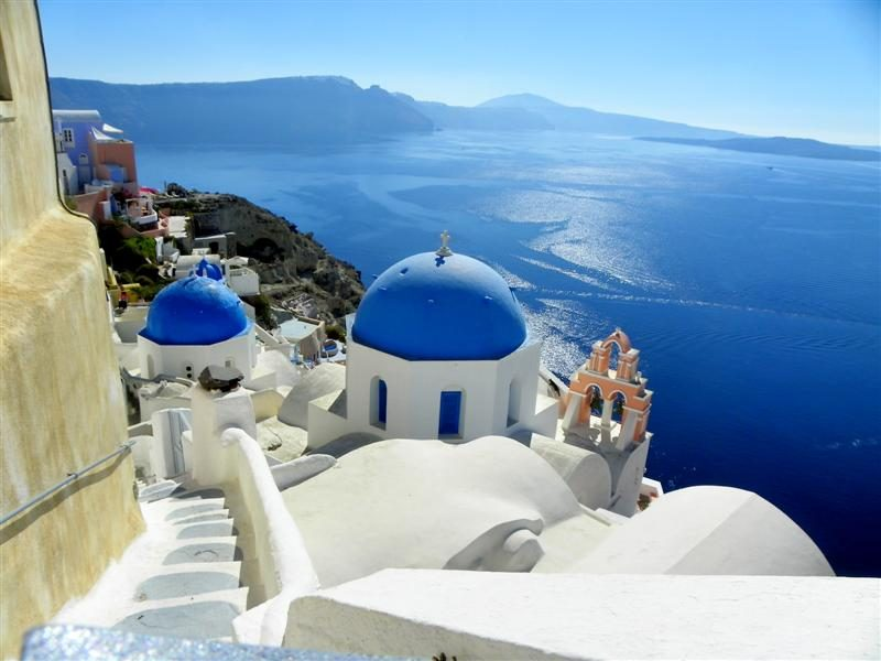 Santorini-Fira-volacano-Caldera-kishtare-Aegean-detit-Greqi-europe-Cel-tours