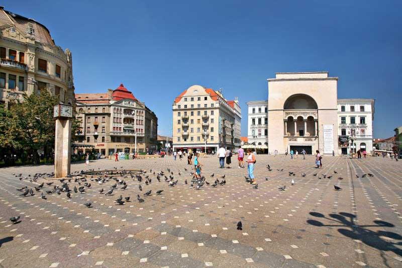 Τιμισοάρα-Βελιγράδι-Σερβίας-τετράγωνο-2-Βαλκάνια-Ευρώπη-οι-περιηγήσεις