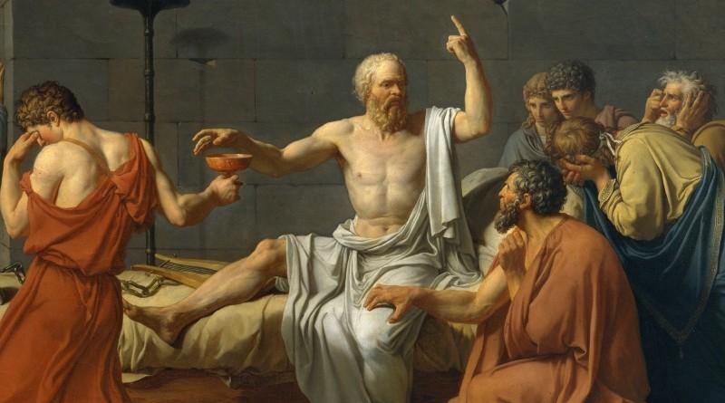 La morte-di-Socrate